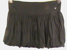 Bubble mini skirt women's-XS Old Navy perfect-fit black stretch jersey short NEW