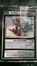 Star Trek CCG 1E Official Tournament SEALED Deck 20 cards mint/nr mint