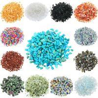 1lb Crushed Gemstone Chips Stone Undrilled Tumbled Crystal Quartz Decor/DIY
