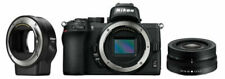 Nikon Z 50 20,9 Mpix Appareil photo hybride - Noir (Kit avec 16-50mm VR + FTZ)
