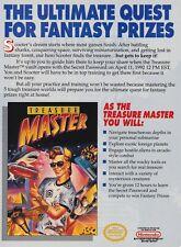 Original 1991 TREASURE MASTER Nintendo NES video game print ad page