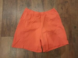 Laura Scott Women's Casual Shorts Size Large 100% Cotton Stretch Comfort