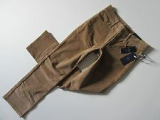 NWT Not Your Daughter's Jeans Marilyn Straight in Butterscotch Corduroy Pants 6P