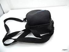 """Ambico 6.5"""" Padded 2 Pocket Zipper Shoulder Strap / Belt Loop Bag Gray"""