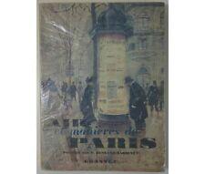 Bessand-Massenet  - Air et manières de Paris. 12 héliogravures, Grasset 1951