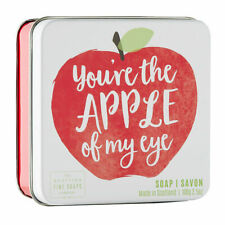 """""""You're The Apple Of My Eye"""" Soap Bar 100g -Scottish Fine Soap Company, Gift Box"""