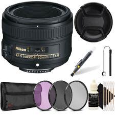 Nikon 50mm f/1.8G AF-S lens for Nikon Digital SLR Cameras + Pouch, and More