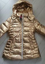 Fritzi aus Preußen Winter Jacke Utah Short Metallic Light Gold  Größe S