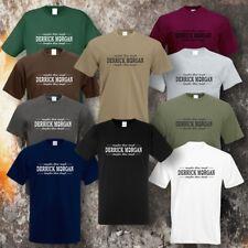 DERRICK MORGAN ROUGHER THAN  ROUGH T-SHIRT (10 Farben)