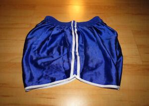 Glanzshorts Neu L Shiny Nylon Shorts Glänzend Sporthose Sportshorts Hose New