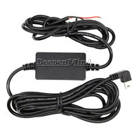 Hardwire Mini USB Car Charger Power Cable Kit For Auto Dash DVR Camera Recorder