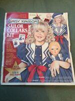 Daisy Kingdom Sailor Collars Kit New Use with Simplicity #7084 #7076 Girls Dolls