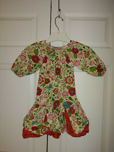 Toddler Girl Jelly the Pug Mindy 744 Petals Collection Dress Size 4T