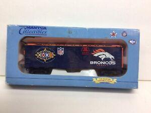 Mantua 733–934 NFL Denver Broncos HO scale box car