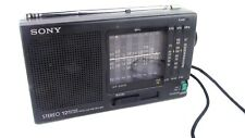 Sony Stereo ICF-SW-10 World Receiver SW / FM / LW / MW / Short Wave 12 Band