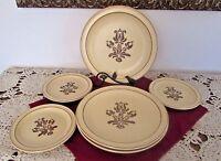 Pfaltzgraff Village 3 Small Salad (B&B?) Plates; 3 Dinner Plates (6 items) 86