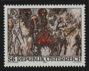 Austria 1995 #1685 Europaisches Landschaftsbild, by Adolf Frohner - MNH