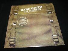 RARE EARTH<>IN CONCERT<>2X Lp vinyl<>Canada Pressing~MOTOWN R 534D