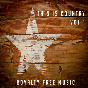 Royalty Free Modern Country Music CD PPL PRS Licence Free CD