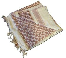 Shemagh Tan and Brown Red Rock Outdoor Gear Arab Scarf Keffiyeh Bandana