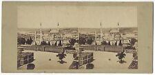 Constantinople Turquie Turkey Stéréo photo Vintage Albumine ca 1860