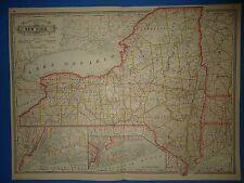 Map Of New York 1800.New York 1800 1899 Date Range Antique North America Railroad Maps