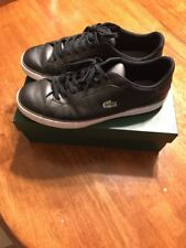 Black LACOSTE Sneakers size 13 Shoes.