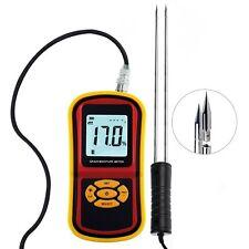 5~30% Compatto Grano Umidità Metro Riso Mais Grano Igrometro Temperatura Tester