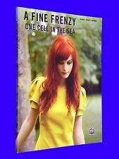 A Fine Frenzy One Cell In The Sea Piano Vocal Guitar Tabs Sheet Music Songbook