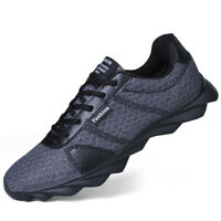 Fashion Men's Running Breathable Shoes Sports Casual Walking Athletic Sneakers