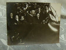 Vintage antique 1916 photo Dodge car with a family -neat old photo