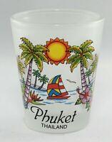 PHUKET THAILAND BEACH PARADISE SHOT GLASS SHOTGLASS