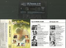 s MC Kassette Top 13 / Hit Parade 2/91 Deutsch / Torfrock, Tom Astor, Keimzeit