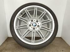 "2003-2010 E60 BMW 5 SERIES 19"" M SPORT MV4 FRONT ALLOY WHEEL + TYRE 8037141"