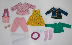 "Huge outfit lot for 14"" Minouche Natterer Petitcollin Kruse 35cm Zwergnase doll"