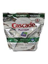 Cascade Platinum Dawn 16 X Power 11 Fresh Scent Action Pacs Dishwasher Detergent