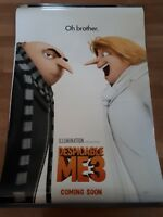 DESPICABLE ME 3 cinema one sheet Poster full size ORIGINAL D/S  A