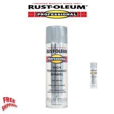 Rust-Oleum Oil Based Enamel Spray Paint Professional Maintenance Silver,15 Ounce