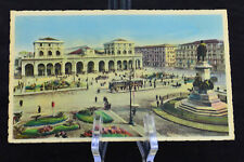 Postcard Napoli Stazione Centrale Naples Italy
