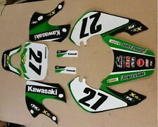 3M PIT BIKE KLX GRAPHICS KAWASAKI KLX110 KX65  KX 65 KZR STICKERS GRAPHIC DECALS