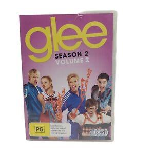Glee Season 2 Volume 2 4 Disc Set DVD Free Tracked Postage