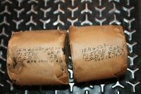 NOS TWO Harley Davidson 45ci Flathead Pistons,Pins,Rings Military Surplus .010
