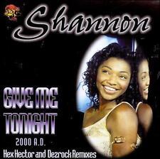 Give Me Tonight Maxi Single Shannon CD Master Tone Hex Hector Dezrock Remixes