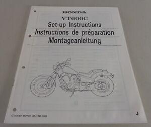 Instrucciones de Montaje / Kit Up Manual Honda VT 600C Stand 1988