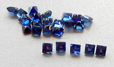 Natual Mined Sapphires / Square Cut /1.9-2.0mm size range /23 stones/ 1.79 cts.