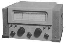 National NC-46 NC46 Radio Receiver Manual