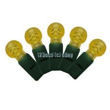 G12 Yellow LED Lights - Christmas Lights