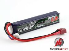 Nano-Tech 1000mah 3 CELLE Airsoft LiPo Stick Batteria Deans T Connettore 11.1v 20c