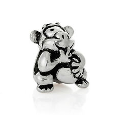 Giggling Monkey Laughing Animal Gorilla Orangutan Charm for European Bracelets