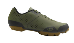 GIRO Privateer Lace Up Cycle Shoes Mens Green Size UK 8 Us 9 *REFCRS172